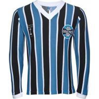 Camisa Retrô Grêmio Manga Longa 1983 Masculina - Masculino