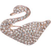 Broche Feminino Corpete Acessórios De Cristal Temperamento Pin-Coreano Jacket Pin Cardigan Atmosfera Alto Grau De Liga De Materiais Embutidos Com Swan Broche