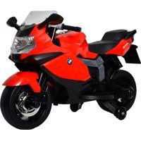 Moto Bmw K1300 Vermelha Elétrica 6V Bandeirante
