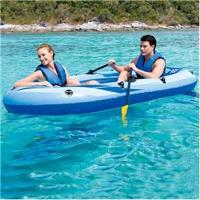 Bote Rx-400 Raft Bestway Para 2 Pessoas + Remos + Inflador - Azul