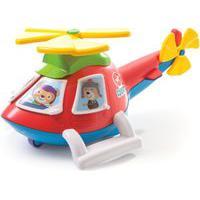 Helicóptero Calesita Helico Vermelho