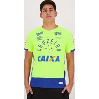 Camisa Umbro Cruzeiro Goleiro 2016 Fábio Com Patrocínio