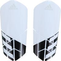 Caneleira De Futebol Adidas X Lesto - Adulto - Branco/Preto