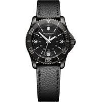 Relógio Victorinox Swiss Army Feminino Couro Preto - 241788
