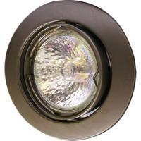 Spot Dicróica Dirigível Zamac Mr16 50W 127V Escovado