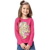 Blusa Rosa Barbie®