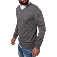 Suéter Masculino Cinza Escuro