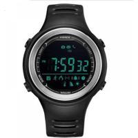 Relógio Smart Pedômetro Weide Masculino - Masculino-Preto