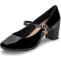 Sapato Feminino Salto Baixo Villa Rosa - 886188200