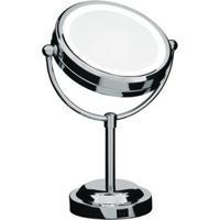Espelho De Aumento Mor Dupla Face - Unissex-Prata