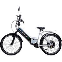 Bicicleta Elétrica Machine Motors Basic 800W 48V Branca