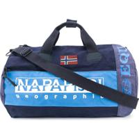 Napapijri Sarov Colour Block Duffle Bag - Azul