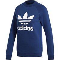 Agasalho Adidas Mc Trf Crew Sweat Azul Marinho