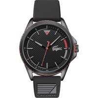 Relógio Lacoste Masculino Borracha Preta - 2011029