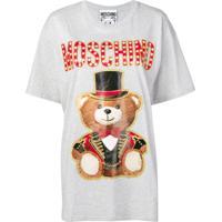 Moschino Circus Bear T-Shirt - Cinza