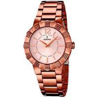 Relógio Festina Feminino Aço Rosé - F16800/1