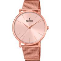 Relógio Festina Feminino Aço Rosé - F20477/1