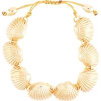 Tohum Beach Shell Bracelet - Dourado