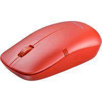 Mouse Sem Fio Usb Multilaser Mo289 Lite 1200Dpi Vermelho