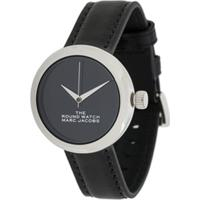 Marc Jacobs Watches Relógio The Round - Preto