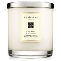 Vela Perfumada Lime Basil & Mandarin Luxury Candle 2,1Kg - Bege