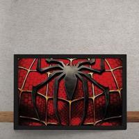 Quadro Decorativo Espetacular Homem Aranha Peitoral Marvel 25X35