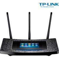 Roteador Wireless Tp-Link Touch P5 Com Velocidade De 1900Mbps, Dual Band Com Frequência 2.4Ghz (11N) E 5Ghz (11Ac), Tela Touch E 3 Antenas Externas