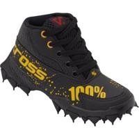 Bota Infantil Vissi Ride 100% - Masculino-Preto+Amarelo