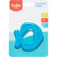 Mordedor Para Bebê Buba Gelado Com Água Peixinho Azul