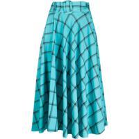 Alice+Olivia Flared Style Skirt - Azul