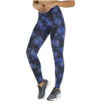 Calça Legging Oxer Mundi - Feminina - Azul/Preto