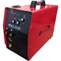 Máquina Inversora De Solda Tig/Mig Bambozzi Mte 210 Plus Bivolt