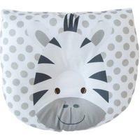Travesseiro De Bebê Anatômico Zebrinha Cinza