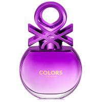 Perfume Feminino Benetton Colors Purple Eau De Toilette 50Ml Único