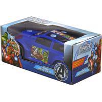 Carrinho Bate E Volta Avengers Assemble - Toyng Ref:22780