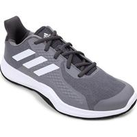 Tênis Adidas Fitbounce Trainer Masculino - Masculino-Cinza+Branco
