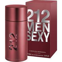 Perfume Masculino 212 Sexy Men Carolina Herrera Eau De Toilette 100Ml - Masculino-Incolor