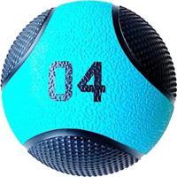 Bola De Arremesso Medicine Ball 4 Kg Liveup Pro - Unissex