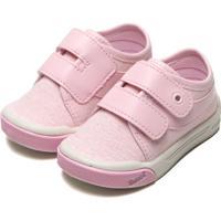 Tênis Pimpolho Infantil Liso Rosa