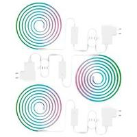Kit 3 Fitas Led Kabum! Smart, Wi-Fi, Rgb, 5 Metros, Google Assistant, Alexa