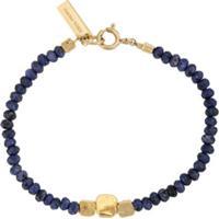 Isabel Marant Pulseira Bijoux Femme Com Contas De Pedras - Azul