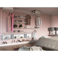 Closet Aramado - Ambiente 01 Com 2,60 Branco - Getama Moveis