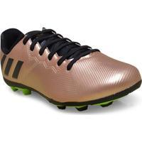 Chuteira Masc Infantil Adidas Ba9861 Messi 16.4 Fxg J Bronze/Preto