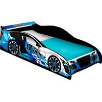 Cama Carro Drift Infantil Azul