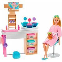 Boneca Barbie Fashionista Spa De Luxo