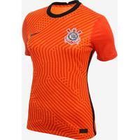 Camisa De Goleira Nike Corinthians 2020/21 Jogadora Feminina