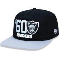 ... Boné 950 Original Fit Oakland Raiders Nfl Aba Reta Snapback New Era -  Masculino-Preto 3faf9332d7db9