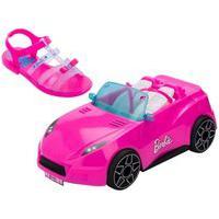Barbie Carro Conversível Rosa Com Sandália 29 - Grendene