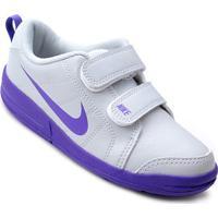 Tênis Infantil Nike Pico Lt - Feminino-Cinza+Roxo