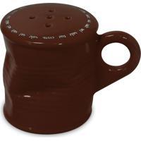 Saleiro 90Gr– Mondoceram Gourmet - Chocolate